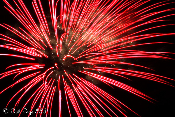 Daily Photo for July 12, 2010<br /> <br /> Fireworks - Chagrin Falls, OH ... July 4, 2010 ... Photo by Rob Page III