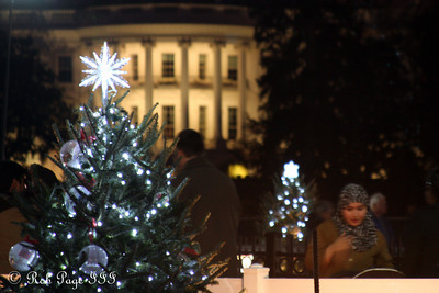 Daily favorite for January 9, 2012.  Down at the White House for Christmas with America's multiculturalism.  ---  Down at the National Christmas Tree - Washington, DC ... January 1, 2012 ... Photo by Rob Page III