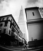 Transamerica Pyramid Pierces the Sky