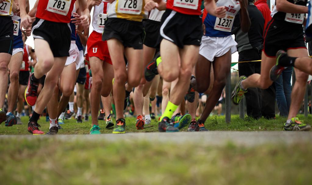 Cross Country Championship Race