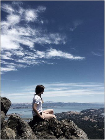 The View from Mt Tamalpais
