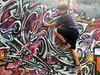 Climbing Grafitti
