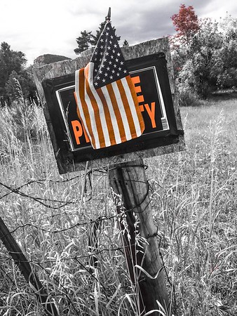 America - Do Not Enter, Private Property