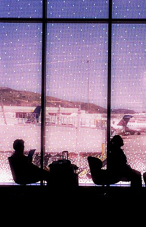 Airport Silhouettes