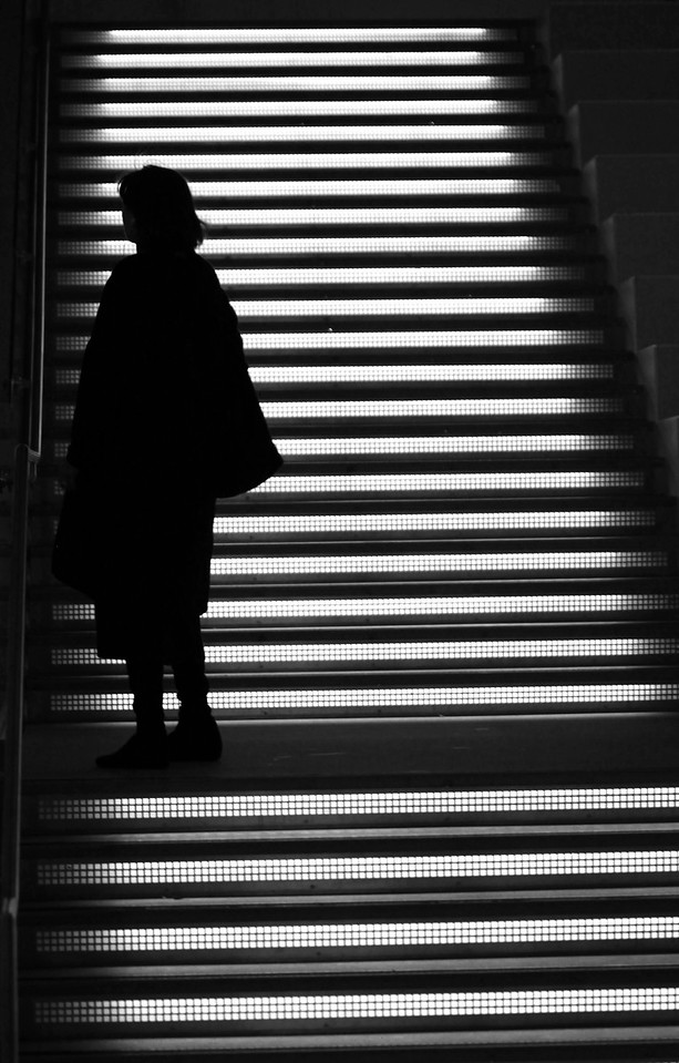 A Darkened Woman