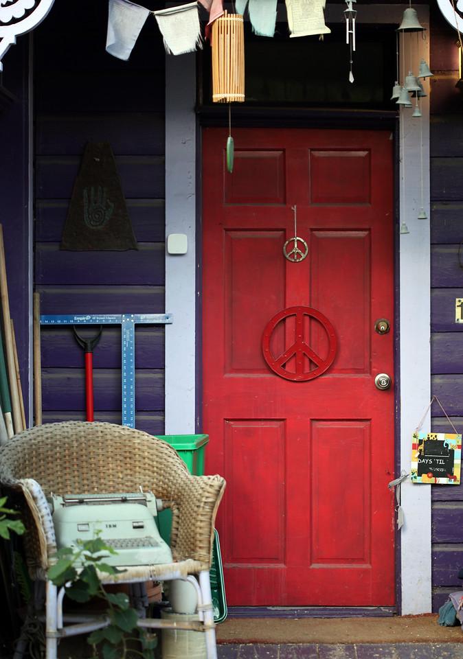 Peaceful Door