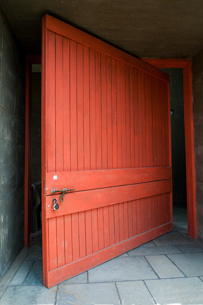 """Door (Pic 267 2nd year - 12 Oct 2009)<br /> <br /> no PP except for light adjustments.<br /> ATMA (Ahmedabad Textiles Mill's Association) building was designed by world renowned architect Le Corbusier.<br /> The door looks heavy - which it was - but was very  easy to operate. <br /> more pics <br />  <a href=""""http://hershy.smugmug.com/Travel/Ahmedabad/October-2009/9859810_e7xxy/1/669546611_MS3Ph"""">http://hershy.smugmug.com/Travel/Ahmedabad/October-2009/9859810_e7xxy/1/669546611_MS3Ph</a><br /> <br /> <br />  <a href=""""http://agram.saariste.nl/scripts/fcard.asp?lookforthis=65&dir=corbu&pics=cb"""">http://agram.saariste.nl/scripts/fcard.asp?lookforthis=65&dir=corbu&pics=cb</a><br /> <br />  <a href=""""http://www.javeri.net"""">http://www.javeri.net</a>"""