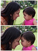 "Kalpana & Aahana (Pic 347 2nd year - 13 Jan 2010)<br /> Best seen in XLarge size<br /> <br /> My niece Kalpana with her grand daughter Aahana. I shot this and plenty more pictures over a few days during Kulin & Jaina's wedding in Ahmedabad. Will post some more of her pics soon. <br /> <br /> BW versions is here:<br />  <a href=""http://hershy.smugmug.com/Photography/Aahana/10829377_c3RjZ#764457802_y5dGn-A-LB"">http://hershy.smugmug.com/Photography/Aahana/10829377_c3RjZ#764457802_y5dGn-A-LB</a><br /> <br /> Aahana's gallery:<br />  <a href=""http://hershy.smugmug.com/Photography/Aahana/10829377_c3RjZ/1/764457802_y5dGn"">http://hershy.smugmug.com/Photography/Aahana/10829377_c3RjZ/1/764457802_y5dGn</a><br /> <br /> <br />  <a href=""http://www.javeri.net"">http://www.javeri.net</a>"