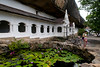 """Dambulla rock temple (Pic 188 2nd year)<br /> <br /> Perched on a hill, the temple was built by king Walagambahu in the 1st century B.C. and is the most impressive of Sri Lanka's cave temples plus a World Heritage Site.  <br /> <br /> The complex of five caves with over 2000 sq. metres of painted walls and ceilings, is the largest area of paintings found in the world. It contains over 150 images of the Buddha of which the largest is the colossal figure of the Buddha carved out of rock and spanning 14 metres.Hindu statues are believed to be of the 12 century AD and the latest paintings are of the late 18-century.<br /> <br /> Dambulla is a small town located at a distance of 19 km from Sigriya on the Sigriya-Kandy road. Dambulla has over 80 caves in the surrounding and some of them have been used by the monks as meditation locations. <br /> <br />  <a href=""""http://www.javeri.net"""">http://www.javeri.net</a>"""