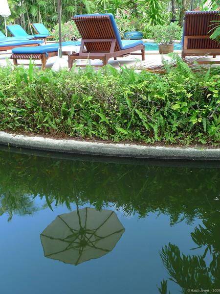 Reflection<br /> 30 March 2010<br /> <br /> Shot in Leica D-4, no PP.    <br /> Grand Centara Hotel, Koh Samui