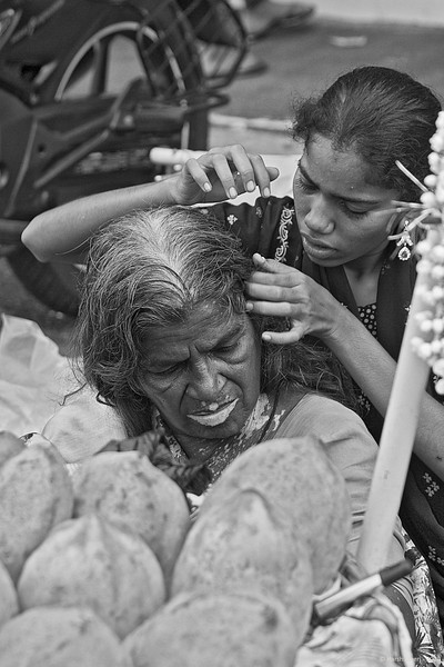"What 'LICE' beneath<br /> 13 July 2010 <br /> <br /> The colour version is here - DO have a look!  <br /> <br /> <a href=""http://hershy.smugmug.com/Photography/Mumbai-my-city/Misc-shots-of-Mumbai/6410100_x8urE#926363869_4mLPb-A-LB"">http://hershy.smugmug.com/Photography/Mumbai-my-city/Misc-shots-of-Mumbai/6410100_x8urE#926363869_4mLPb-A-LB</a><br /> <br /> <br /> <br /> Shot at Colaba market in South Mumbai."