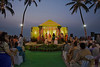 "By the sea (Pic 342 2nd year - 08 Jan 2010)<br /> <br /> Parthiv & Neha's wedding ceremony was held at Sun'n'Sand hotel's garden which over looked the Arabian Sea. Had to do a lot of colour corrections due to different lights. <br /> <br /> <br /> <br /> More pics at <br />  <a href=""http://hershy.smugmug.com/Events/Parthiv-Neha/Parthiv-Wedding-2/10845285_VJ5Zg#759963759_ajfCj"">http://hershy.smugmug.com/Events/Parthiv-Neha/Parthiv-Wedding-2/10845285_VJ5Zg#759963759_ajfCj</a><br /> www,javeri.net"