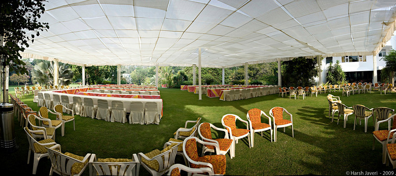 """Lunch venue (Pic 336 2nd year - 02 Jan 2010)<br /> This pano is stitched from 13 vertical shots.<br /> <br /> This was the set up for lunch at my cousin's home during the wedding in December of my great-nephew. <br /> <br />  <a href=""""http://www.javeri.net"""">http://www.javeri.net</a>"""