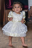 """4th year Pic 220 - Sep - 25 2012. <span style=""""color:yellow"""">Princess Anika! </span> 1st birthday!  On 16th Anika finished one year! Both sets of grandparents and close family members went for lunch. Anika, dressed like a princess, tossed off her shoes, ran about bare-feet and played with all those present at the restaurant and outside it. We cut a little cake with her and the birthday girl was happiest to be fed all that yummy chocolate by all of us. In all, a thoroughly enjoyable and memorable fuss-free celebration, where Anika the star was just as she's been all this year — happy, excited and playful.   <span style=""""color:cyan"""">Critiques welcome!</span>"""