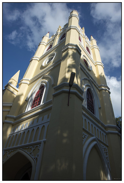 "4th year Pic 214 - Sep - 18 2012. <span style=""color:yellow"">All Saints Church - </span> Coonoor All Saints Church is a part of Church of South India and established in 1854. It was right next to our hotel in Coonoor.   http://allsaintschurchonline.com/ <span style=""color:cyan"">Critiques welcome!</span>"