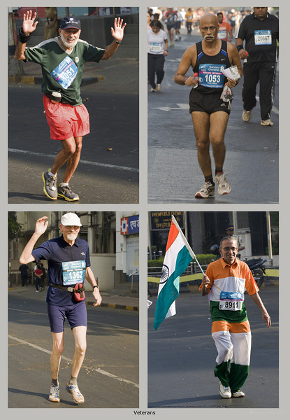 "4th year Pic 066 - Jan 23 2012 <span style=""color:yellow"">Young at heart!</span> Mumbai Marathon 2012 <span style=""color:red"">Best seen in large size</span> Some of the veterans who ran the Half Marathon (21.097 km)."