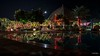 """4th year Pic 271 - Dec - 15 2012. <span style=""""color:yellow"""">Pool at night </span>  -   Ananta Spa Resort, near Pushkar; where I stayed for the wedding.  The camera was kept on a table near the pool for 2sec exposure.   <span style=""""color:cyan"""">Critiques welcome!   BEST seen in large size </span>  http://www.anantaindia.in/"""