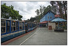 "4th year Pic 229 - Oct - 06 2012. <span style=""color:yellow"">Coonoor railway station </span>, South India <span style=""color:cyan"">Critiques welcome!</span> We boarded the Nilgiri Mountain Railway (Mini train) from Coonoor [5,616 ft (1,711.8 m) above sea level] to Ooty (Udhagamandalam) traveling approx 18 kms(10 mi).  The train starts from Coimbatore (1068 ft htl) and goes up to Ooty 7,228 ft (2,203.1 m) traveling through 16 tunnels and over 250 bridges, covering a distance of 46 km (28.6 mi) in 4.8 hours.   more info at http://en.wikipedia.org/wiki/Nilgiri_Mountain_Railway <span style=""color:red"">ADDED</span> Some of you have wondered the empty platform! Well, there was a slight drizzle so people had already entered the compartments or were under the main platform. Only photo enthusiasts like us venture out! :)"