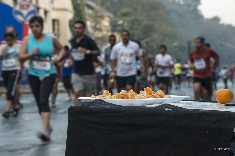 "4th year Pic 300 - Jan - 22 2013. <span style=""color:yellow"">Fruit to go </span> -  Mumbai Marathon 2013, Mumbai <span style=""color:cyan"">Critiques welcome! BEST VIEWED in large size. </span>"