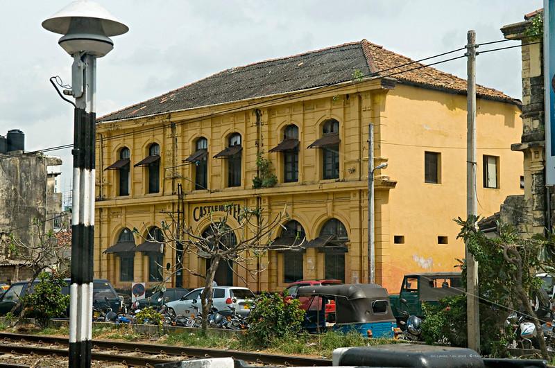 "215 24 Dec<br /> Old hotel <br /> Sri Lanka, shot from car. ISO 400 17-55 f8 1/1000<br /> <br /> more pictures at <br /> <br />  <a href=""http://hershy.smugmug.com/gallery/6837782_hL4K3/1/437113249_NLbCH"">http://hershy.smugmug.com/gallery/6837782_hL4K3/1/437113249_NLbCH</a><br /> <br />  <a href=""http://www.javeri.net"">http://www.javeri.net</a>"