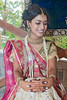 """Ami<br /> Morning of her wedding day, during a ceremony. The 'design' on her hands is from 'Mehendi' (paste of henna). I will put up some mehendi pics tomorrow!<br /> <br />  <a href=""""http://www.javeri.net"""">http://www.javeri.net</a>"""