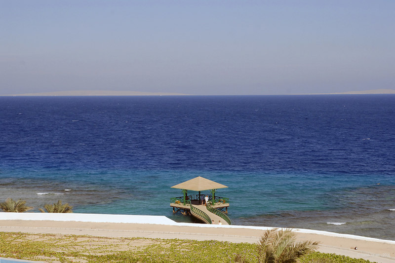 "Red sea?<br /> at The Oberoi Sahl Hasheesh a luxury resort on the Red Sea coast in Hurghadha, Egypt.<br /> <br /> The blues are natural and not done up in PS! ;-)<br /> <br /> Spread over 48 acres, it's THE place to have a holiday! One can relax in the suite, enjoy the sun, the water... and forget all worries. The warm hospitality and delicious food adds to the experience.<br /> <br />  <a href=""http://www.oberoisahlhasheesh.com"">http://www.oberoisahlhasheesh.com</a><br /> <br />  <a href=""http://www.touregypt.net/"">http://www.touregypt.net/</a><br /> <br /> my site:   <a href=""http://www.javeri.net"">http://www.javeri.net</a>"