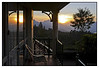 "3rd year Pic 341 - Sep 23 2011 <span style=""color:yellow"">Sunrise from Balcony</span> Club Mahindra, Munnar   This is the scene of a new day from the balcony of our cottage... a great way to start a day!  What struck me was the reflection on the door making it look like a panorama!   more pics of Munnar  http://hershy.smugmug.com/Travel/Kerala/Munnar/16323712_V6ZsPJ#1275747880_qHFrdt9  <span style=""color:red""> Once again, thank you for your GREAT comments on yesterday's pic of the new arrival.  And don't worry, there will be pictures on other subjects too! </span>"