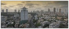 """3rd year Pic 215 - Apr 26 2011<br /> Bird's eye view of Mumbai<br /> Shot from 20th floor terrace of Sarathi building<br /> <br /> <br /> Best seen in Origial size. <br /> 3 images pano shot with D700 ISO 200 f9 1/160<br /> The building between the green covering and the crane is where I stay.<br /> <br /> <br /> Another version is here: <br /> <a href=""""http://hershy.smugmug.com/Photography/Mumbai-my-city/Misc-shots-of-Mumbai/6410100_x8urE#1269754910_XPjkpMJ-A-LB"""">http://hershy.smugmug.com/Photography/Mumbai-my-city/Misc-shots-of-Mumbai/6410100_x8urE#1269754910_XPjkpMJ-A-LB</a>"""