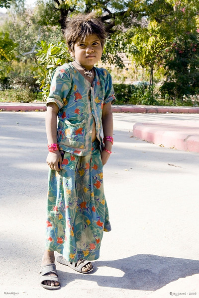 3rd year Pic 014<br /> Village girl<br /> <br /> This girl's parents were working in the temple complex at Ranakpur. Her smile, when I showed her the pic, was priceless and made my day! I did got a print made and sent it over too, the least I could do...