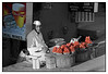 "3rd year Pic 164 - Feb 18 2011<br /> Strawberry vendor<br /> Shot at Mahabaleshwar Market<br /> <br /> I liked the light on his face and while processing thought of partial colouring. Couldn't decide between the original and this one... <br /> <br /> The original colour version is here: <br />  <a href=""http://hershy.smugmug.com/Travel/Mahabaleshwar-2011-ppl/DSC4684/1178070325_snALa-XL.jpg"">http://hershy.smugmug.com/Travel/Mahabaleshwar-2011-ppl/DSC4684/1178070325_snALa-XL.jpg</a>"