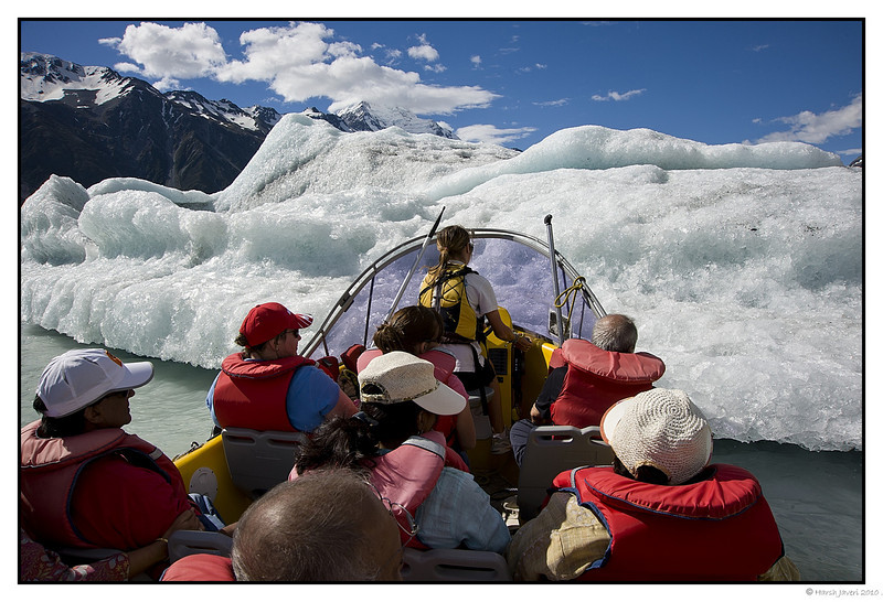 "3rd year Pic 227 - May 13 2011 <span style=""color:yellow"">Glacier </span>  <span style=""color:silver""> Hermitage, Mt.Cook, New Zealand </span>  It was a thrill to approach this glacier and feel the ice!  <span style=""color:red""> do see the ice 'crystals' here! </span> </br> http://hershy.smugmug.com/Travel/New-Zealand-Macau-Hong-Kong/Mount-Cook/15441914_ZWyHX#1156514920  Best seen in large size.  <em> Thank you all for the comments on my pictures!   </em> <br>  <span style=""color:silver"">The Hermitage is located in Aoraki Mount Cook Alpine Village in the South Island of New Zealand. A spectacular 55km drive from the Lake Pukaki / State Highway 8 turn-off between Christchurch and Queenstown, the village lies deep within the Aoraki Mount Cook National Park and World Heritage area, surrounded by the silent splendor of the Southern Alps.  </span> <br> http://www.hermitage.co.nz  <span style=""color:red""> More pictures of Mt.Cook and Hermitage</span><br> http://hershy.smugmug.com/Travel/New-Zealand-Macau-Hong-Kong/Mount-Cook/15441914_ZWyHX"