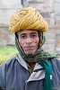 3rd year Pic 012<br /> Guard<br /> <br /> Dressed in the traditional turban a security guard at Ranakpur temple.