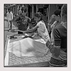 """3rd year Pic 067 - Sep 29 2010<br /> Daily rations<br /> <br /> Ladies buying daily ration of rice from this street vendor in Udaipur. <br /> <br /> Original colour version is here:  <br />  <a href=""""http://hershy.smugmug.com/Travel/Udaipur/13681113_3xWax#1014702915_EDJ3t-A-LB"""">http://hershy.smugmug.com/Travel/Udaipur/13681113_3xWax#1014702915_EDJ3t-A-LB</a>"""