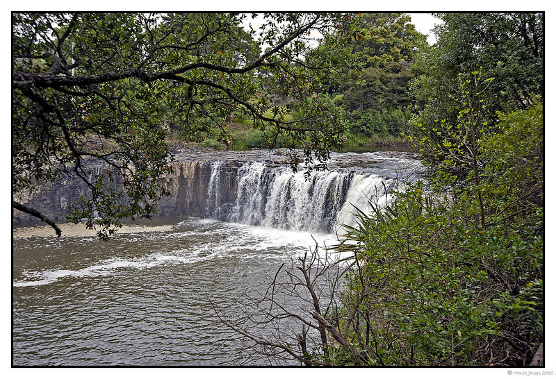 3rd year Pic 149 - Jan 31 2011<br /> Haruru Falls<br /> near Paihia, Bay of Islands - New Zealand