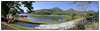 "3rd year Pic 365 - Oct 25 2011 <span style=""color:yellow"">Periyar National Park</span>  Thekkady  This is a 5 images pano from Leica Delux-5  -- BEST SEEN IN LARGE SIZE  <span style=""color:red""> Thank you for your Diwali wishes and comments on the card from Anika!</span> <span style=""color:cyan""> With this picture I complete my third year at the Daily gallery. It has been great sharing & enjoying pictures and learning from your pictures AND making friend along the way! THANK YOU!</span>  Periyar National Park and Tiger Reserve was established in the verdant stretches of Kerala in 1895 and declared a Tiger Reserve in 1978. The Periyar Widlife Sanctuary covers an area of 777 sq km, out of which 360 sq km is under thick and dense evergreen forests. Surrounded by the dense forests, it is quite popular for the Periyar Lake.<br> http://www.india-wildlife-tours.com/wildlife-packages/national-parks-in-india/periyar-national-park-india.html http://en.wikipedia.org/wiki/Periyar_National_Park"