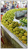"""3rd year Pic 252 - Jun13 2011 <span style=""""color:yellow"""">Mangoes!</span>  Mango stall at Crawford Market (Mahatma Jyotiba Phule Mandai)   In India summer means Mangoes! India is the largest producer of Mangoes and they come in different varieties. Alphonso, Benishaan or Benisha and Kesar mango varieties are considered among the best mangoes in India's southern states, while Dussehri and Langda varieties are most popular in the northern states.   Ripe mangoes are typically eaten fresh while 'Aamras' is a popular pulp/thick juice made of mangoes with and is eaten with chapattis, rice or pooris. Sour, unripe mangoes are used in chutneys, pickles, or side dishes, or may be eaten raw with salt, chili, or soy sauce. A cooling summer drink called panna or panha comes from mangoes.<br>  http://en.wikipedia.org/wiki/Mango"""