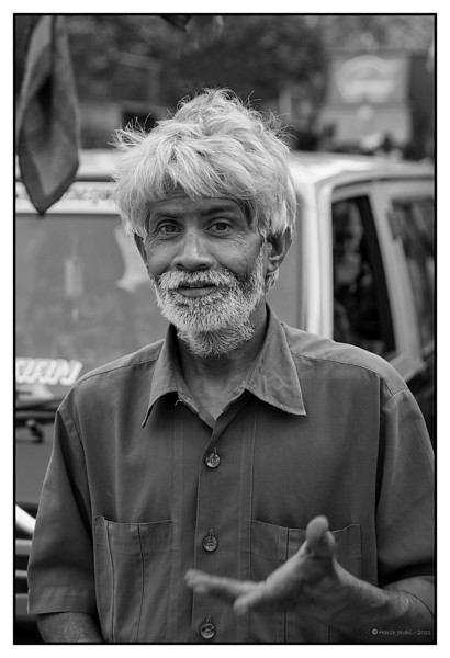 3rd year Pic 151 - Feb 02 2011<br /> Taxi driver <br /> Kumbharwada, Mumbai<br /> <br /> Kumbharwada: Kumbhar means a potter in many Indian languages and wada means an area. But now one finds more of steel & works