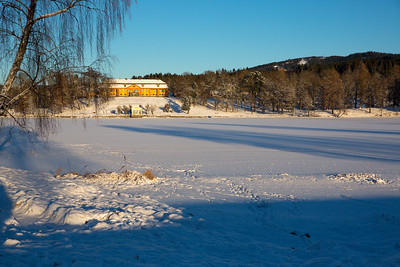 Winter in Norway, Oslo these days, nice skiing