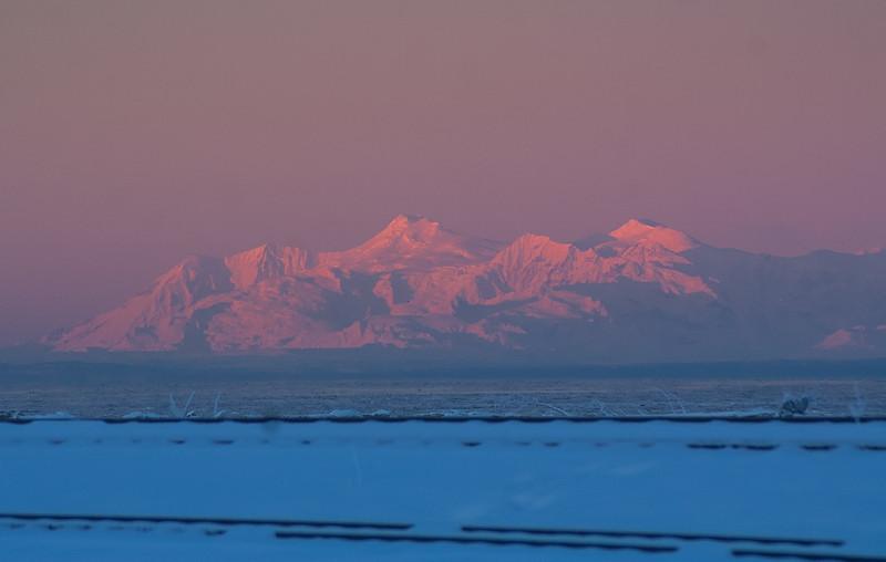 Alpenglow Morning