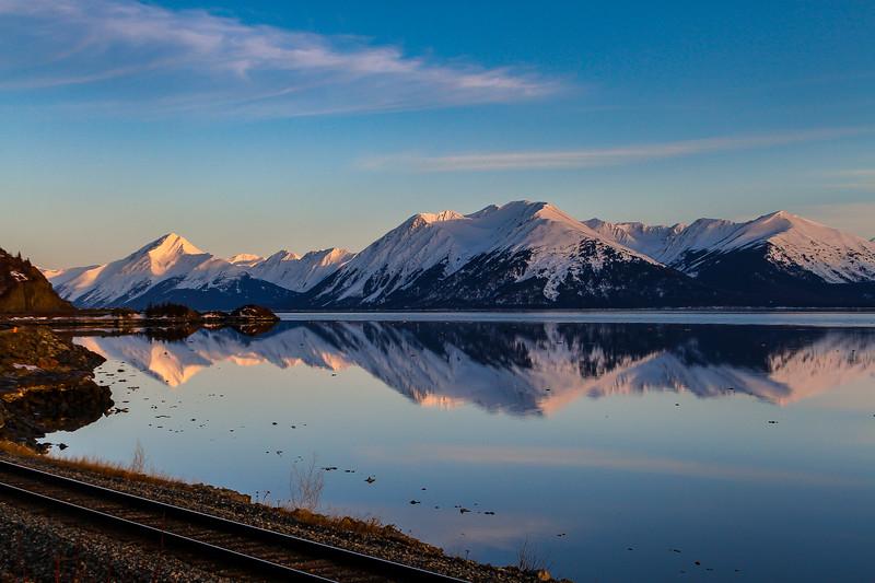 Alpenglow Sunrise