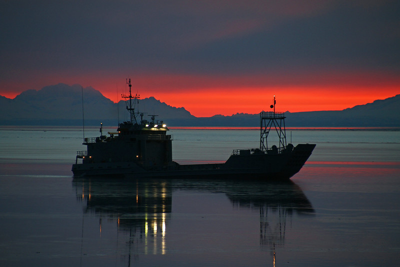 Cook Inlet Silhouette
