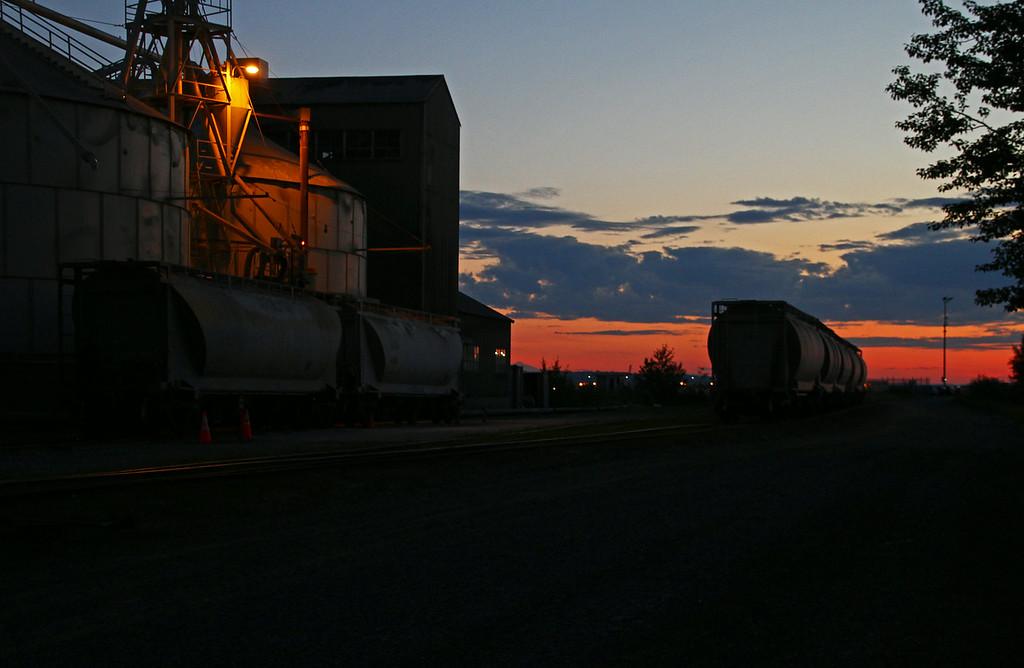 Port of Anchorage Sunrise