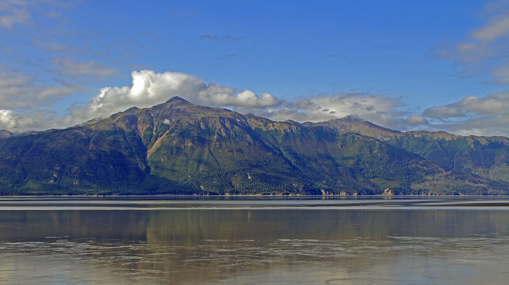 No matter how many times I drive the Seward Highway I always come away with an awesome appreciation of nature. This is a view across Turnagain Arm and looking at Alaska's Kenai Peninsula.