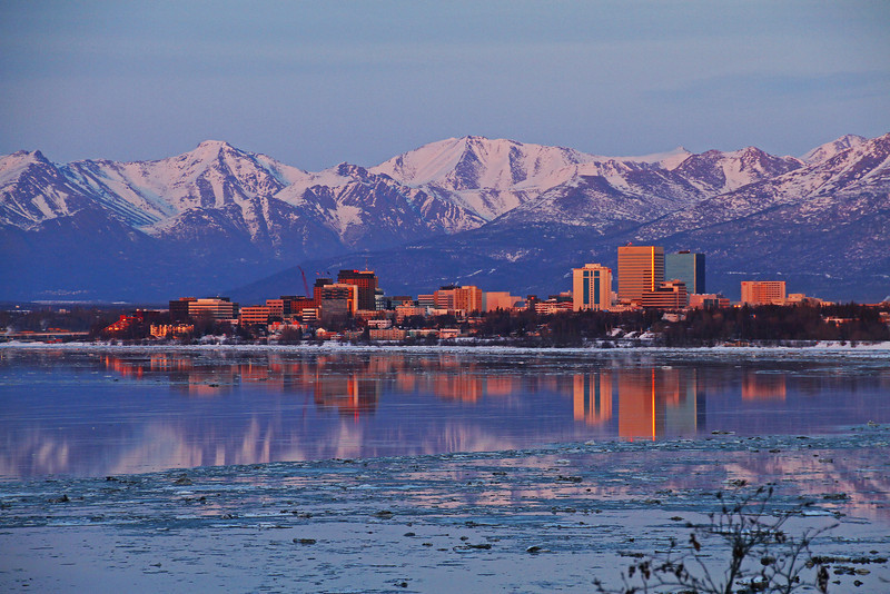 Anchorage Reflection