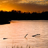 """10-23-2010<br /> <br /> """"Sunset over Sunny Lake"""", Aurora, OH"""