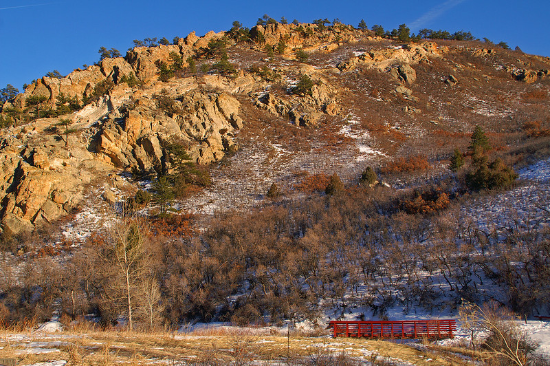 Roxborough State Park south of Denver is a fine place to spend a day of photography.