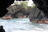 Looking out from a sea cave at Waianapanapa State Park, Maui, HI 12.30.06