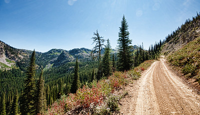 9/2/2011 A great road with a view not far from Black Lake in ID