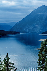 8/8/2011  Lake Cushman in the Olympics National Forest