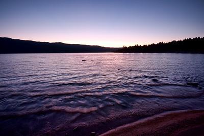 9/2/2011  Cascade lake Sunset